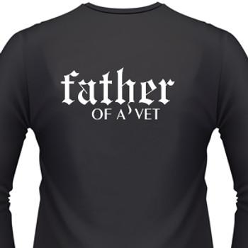Father Of A Vet Biker T-Shirt