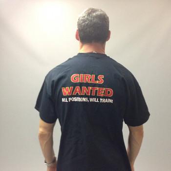 Girls Wanted All Positions Will Train! Biker T-Shirt