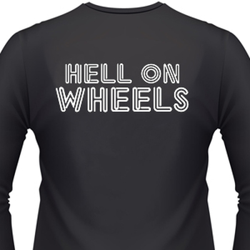 Hell On Wheels Biker T-Shirt