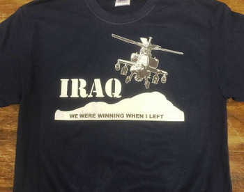Iraq we were winning when I left shirt