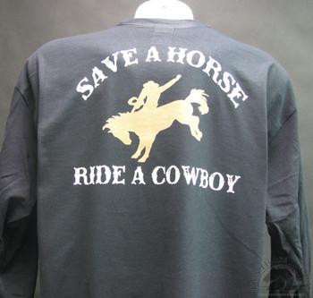 save a horse ride a cowboy shirt