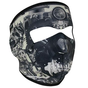 Sprocket Skull Neoprene Face Mask