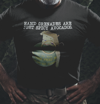 Hand Grenades are just Spicy Avocados Shirt