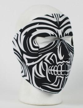 Tribal Moko Neoprene Face Mask