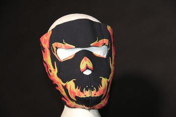 Blackout Skull Face Mask