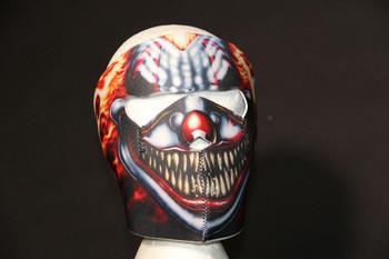 Smoking Clown Neoprene Face Mask
