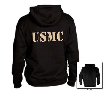 USMC on a Hoodie