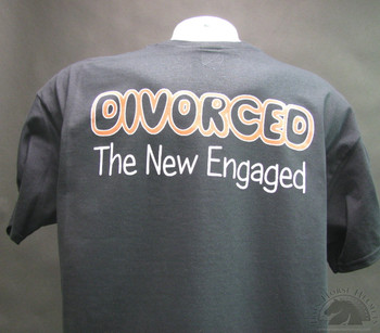 Divorced  The New Engaged Motorcycle T-Shirt