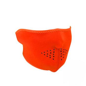 Neoprene Half Face Mask - High Visibility Orange
