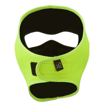 Safety Yellow Neoprene Face Mask