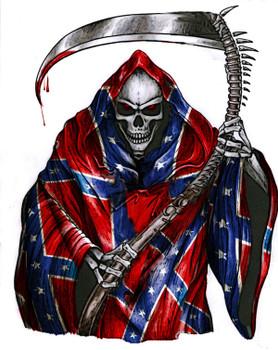 rebel grim reaper shirt