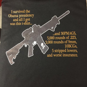 I Survived The Obama Presidency and all I Got Was This T-Shirt