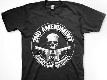 2nd Amendment Double Sided T-Shirt