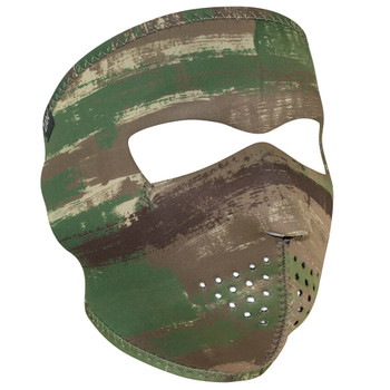 Multi Brushed Camo Neoprene Face Mask
