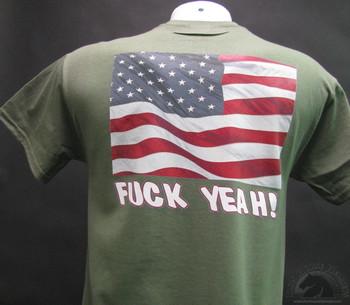 FUCK YEAH! American Flag T-Shirt