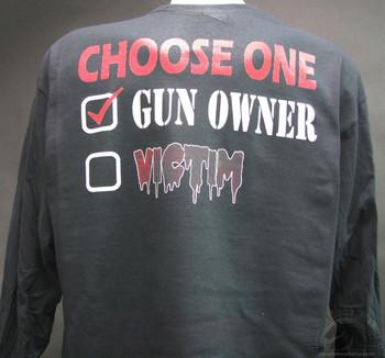 Choose one gun owner victim Shirt