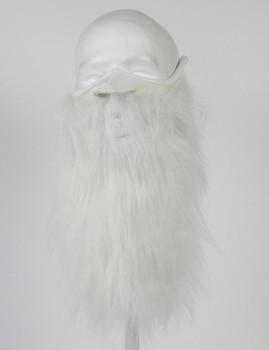 Beardski white beard mask
