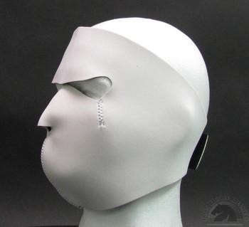White Neoprene Face Mask