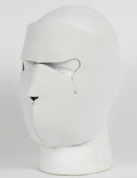 White (Boring) Neoprene Face Mask