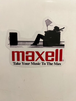 Maxell Cassette Tape Sticker