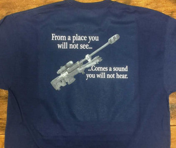 From A Place You Will Not See...Comes A Sound You Will Not Hear T-Shirt