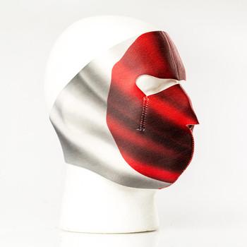 Japanese Flag Neoprene Face Mask