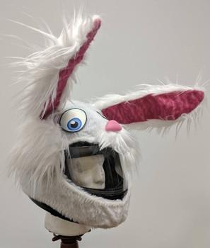 Bunny Rabbit Motorcycle Helmet Cover