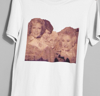 The Golden Girls Shirt The Golden Girls Mt. Rushmore Shirt