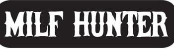MILF Hunter Helmet Sticker