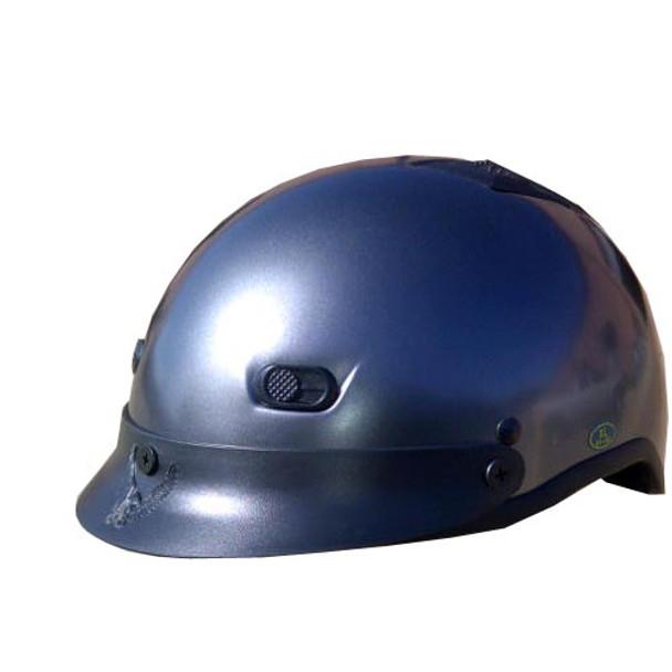 Black Chrome DOT Motorcycle Helmet