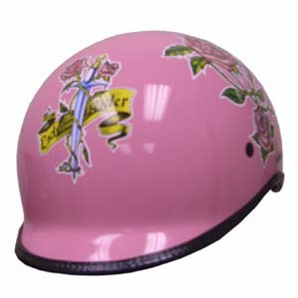 Ladies Polo Jockey Motorcycle Helmet