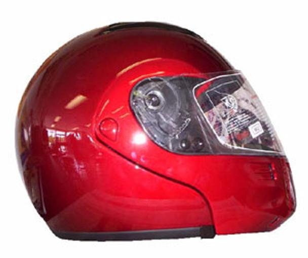 DOT Modular Full Face Winebury Motorcycle Helmet