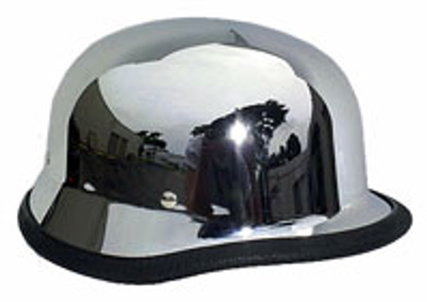 Chrome German Helmet
