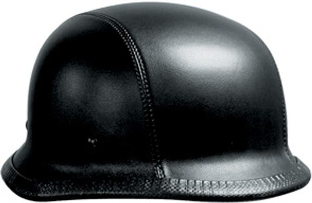 Leather German Motorcycle Helmet