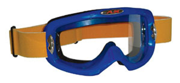 Blue Motocross Goggles