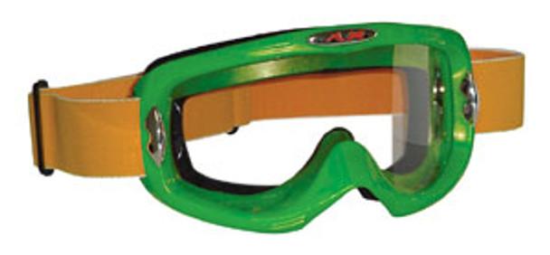 Green Motocross Goggles
