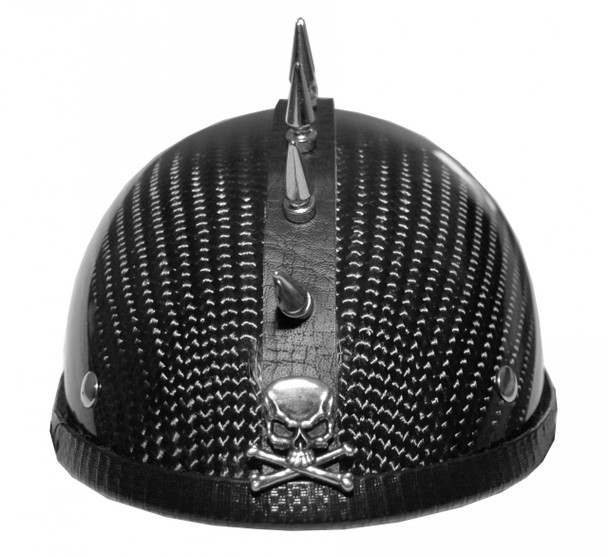 1044 MOTORCYCLE HELMET SPIKE STRIP MOHAWK