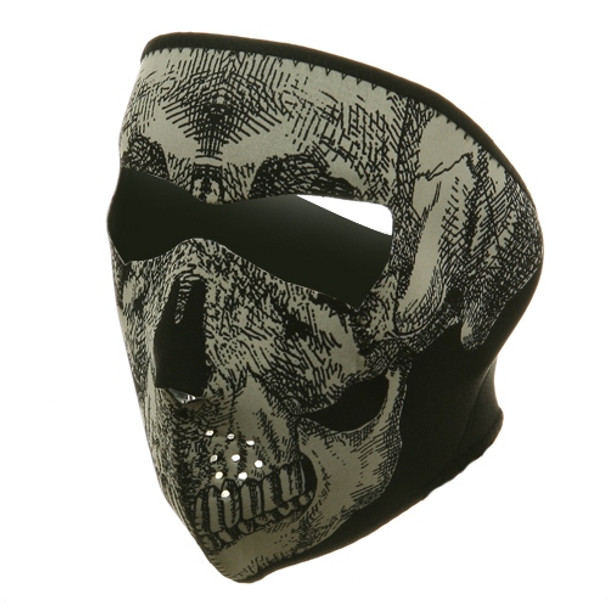 Skull Head Neoprene Face Mask