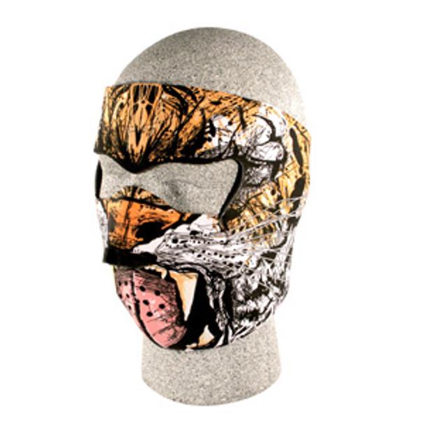 Tiger Neoprene Face Mask