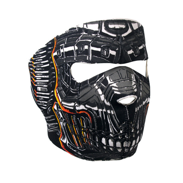 Robo Skull Neoprene Face Mask