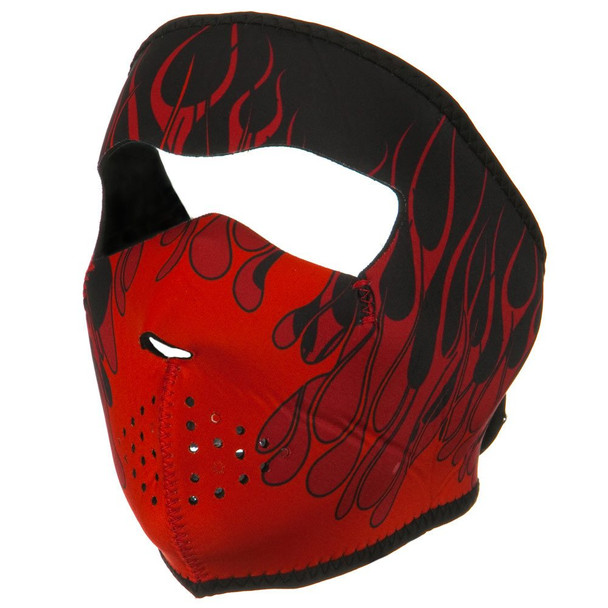 Red Blaze Neoprene Face Mask