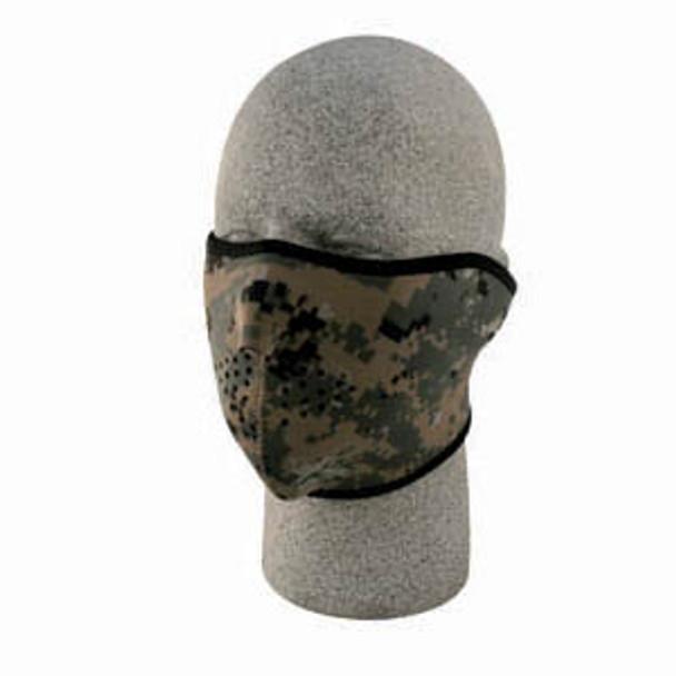 1/2 Digital Green Neoprene Face Mask