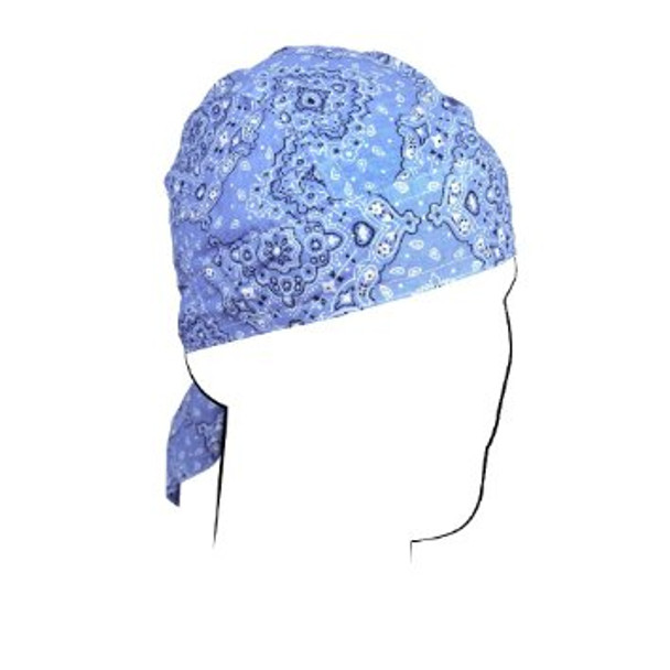 Blue Paisley Do-Rag