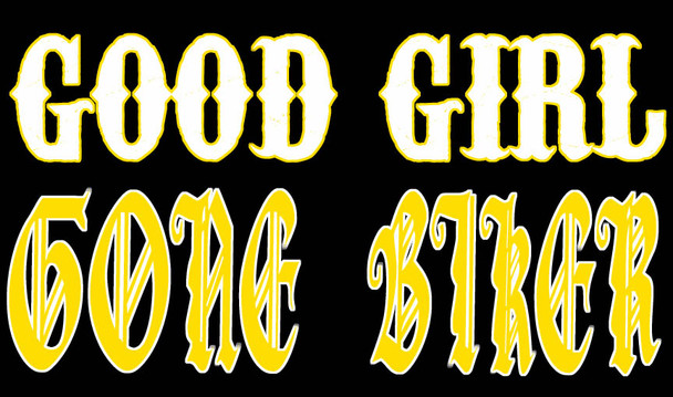 Good Girl Gone Biker Shirt