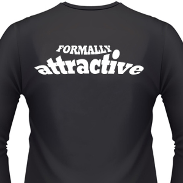 Formally Attractive Biker T-Shirt