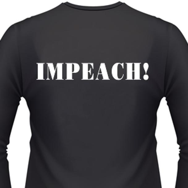 I'mpeach Biker T-Shirt