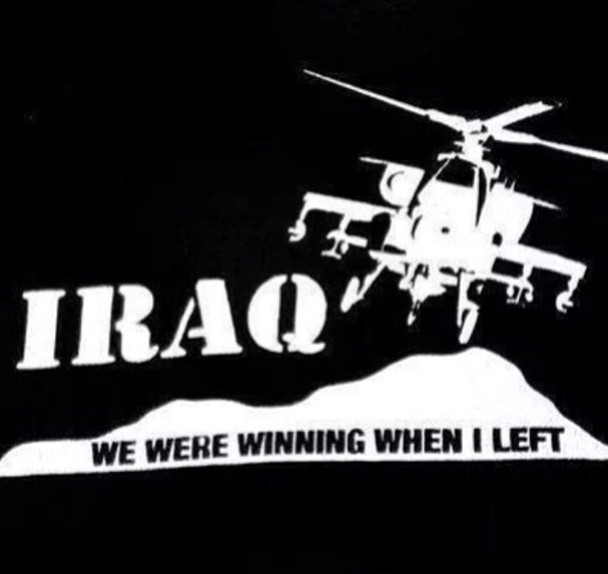 Iraq We Were Winning When I Left Shirt