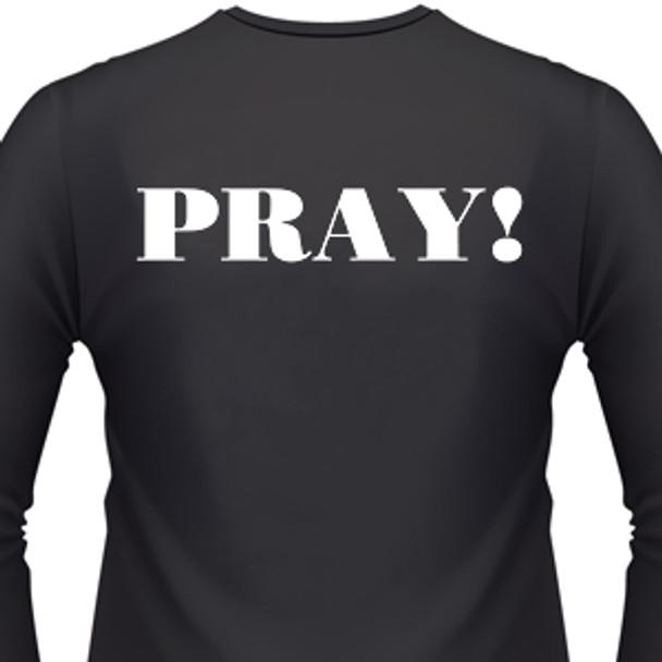 Pray Biker T-Shirt