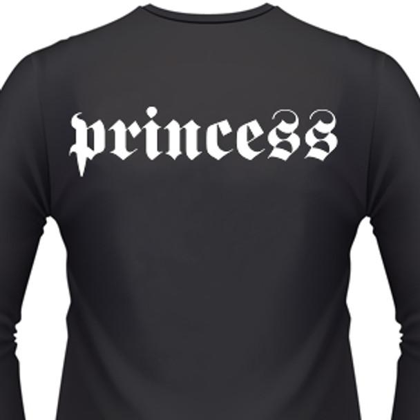 4cda66553b28 Princess Biker T-Shirt and motorcycle shirts