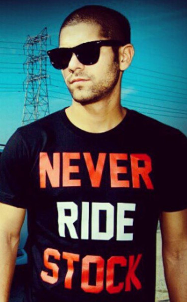 Never ride stock shirt